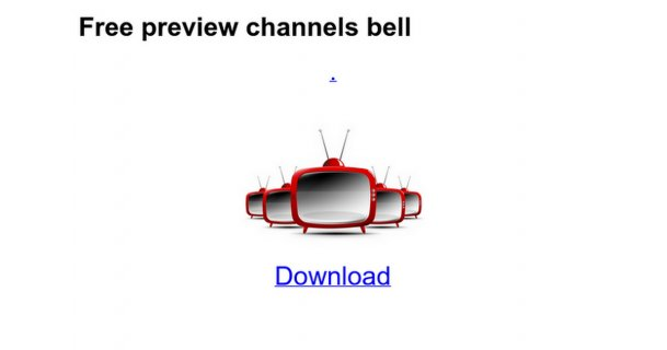 Free preview channels bell