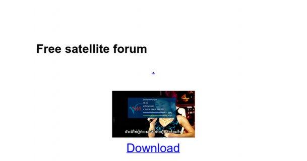 Free satellite forum - Google