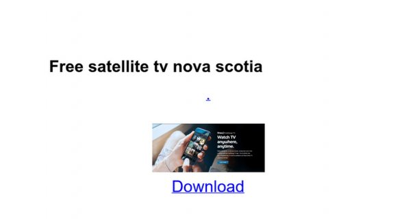 Free satellite tv nova scotia