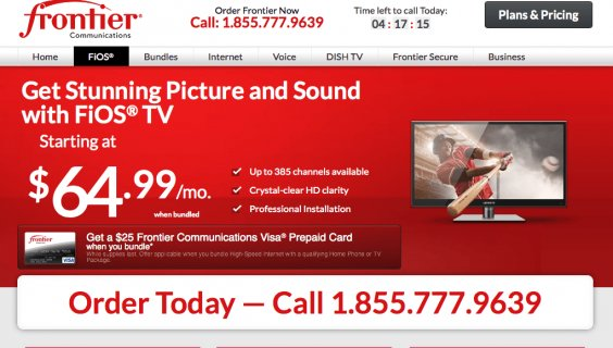 Frontier FiOS TV Review