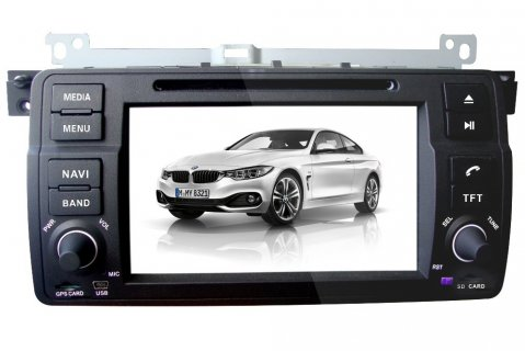 2 din car dvd for E46/ M3/ X3/