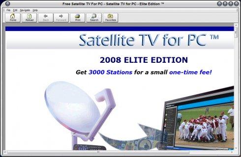 Satellite TV For PC 2011 Elite