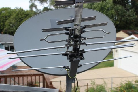 Satellite dish tv antenna