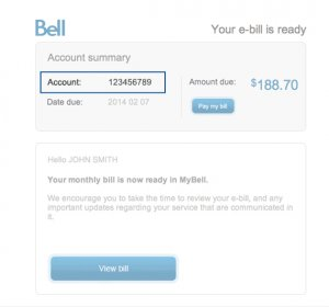 Bell satellite TV phone number