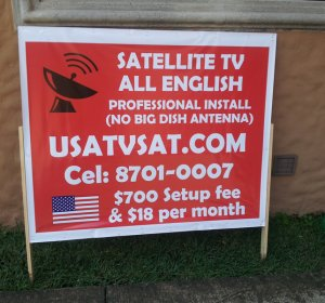Bootleg satellite TV