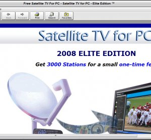 Download satellite TV for PC