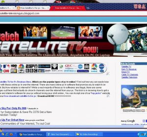 Free satellite TV software