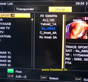 Indian TV satellite