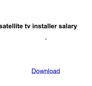 directv installer salary - Toha