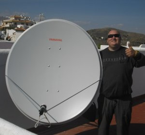 Spanish satellite TV in UK